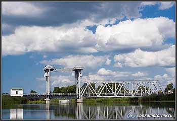 Железнодорожный мост на р.Дейма.