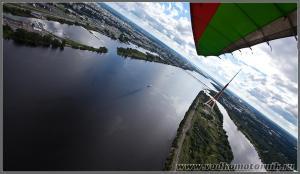 Над Даугавой. Рига Латвия