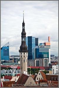 Старый и новый Таллинн