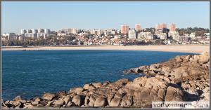 Вид на Порту с океана