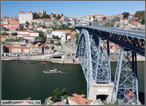 Порту - вид на Дуэро