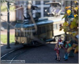 Мадюродам, Madurodam - трамвай