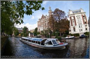 Амстердам водный трамвай