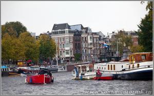 Амстердам - на канале