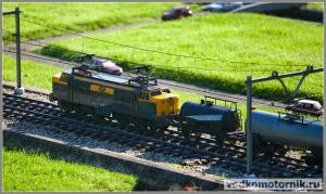 Мадюродам, Madurodam - поезд