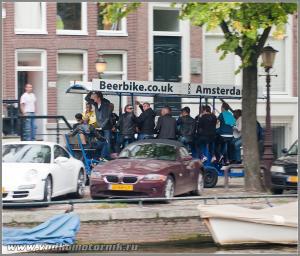 Амстердам - бирбайк