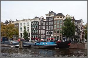 Амстердам - кривые дома