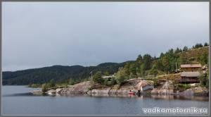Норвежский берег фьерда
