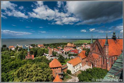 Frombork - вид сверху