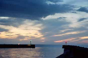 Вечер в Дарлово. Польша. 2006г.