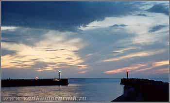Вечер на польском побережье. 2006г.