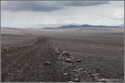 Типичная дорога F в исландии