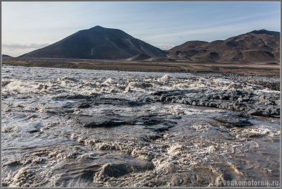 Исландия дорога на Аскья.