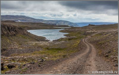 по дороге F608 Исландия, Iceland.