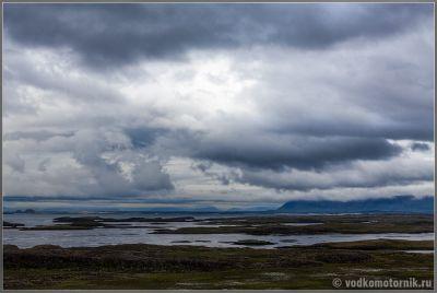 Низкая облачность. Исландия - Iceland.