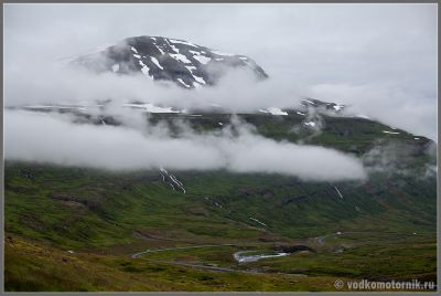 Исландия - типичная летняя погода