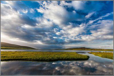 Исландия - место для ночевки на F910