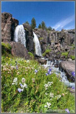 Исландия - водопад на 931 дороге