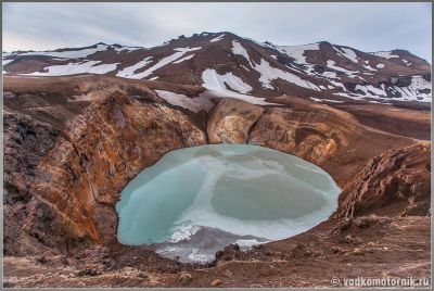 Исландия Аскья - дырка стратовулкана
