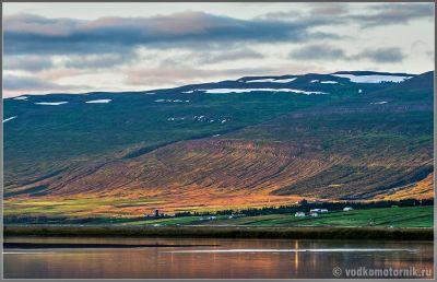 Исландия. Холмистость