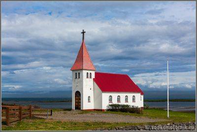 Исландия. Типичная кирха