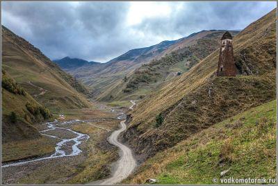 После перевала Медвежий крест