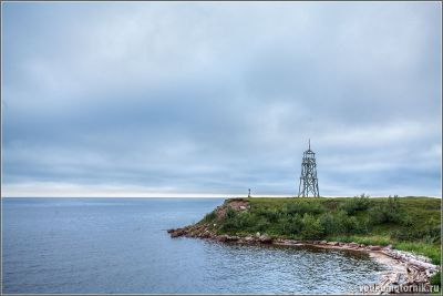 Белое море - маяк