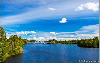 Мост через реку Онда
