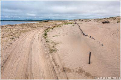 Дорога через северную пустыню Кузомень