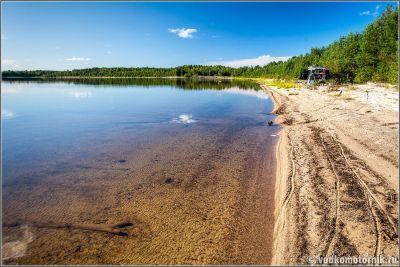 Солнечный берег Сяргозеро