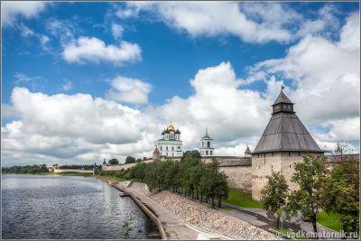 Псковский кром - вид с моста