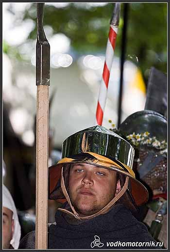 Рыцари перед битвой...
