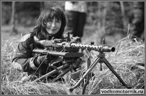 Немецкая пулеметная точка