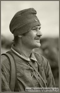 Немецкий беззубый солдат