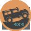 4х4 внедорожный транспорт