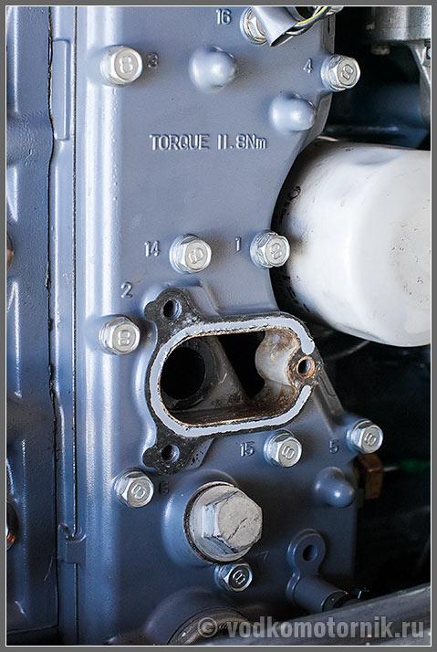 Клапан лодочного мотора Yamaha