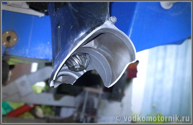 редуктор на лодочный мотор yamaha 30 hmhs
