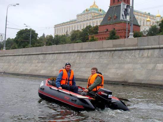 можно ли проплыть на лодке по москве реке