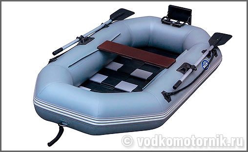 одноместная надувная лодка из пвх под мотор