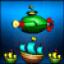 Зеленая подводная лодка