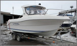 Quicksilver 580 Pilot House - катер