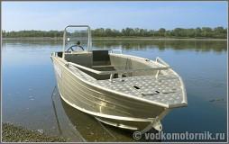 Wyatboat-430C - алюминиевый катер