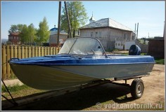 Казанка-5М2 - моторная лодка