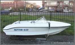 Нептун-450 моторная лодка