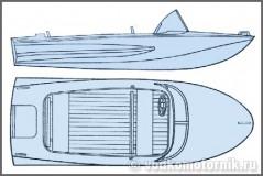 Обь - моторная лодка