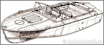 Прогресс-2М моторная лодка