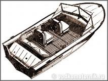 Прогресс-4 моторная лодка
