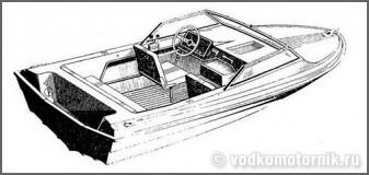Темп - моторная лодка