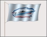 Флаг водкомоторника новый дизайн
