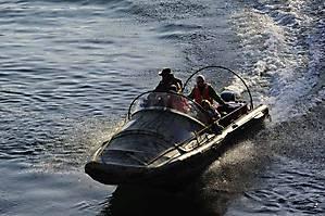 Тримаранный вояж по Байкалу 3 октября 2011